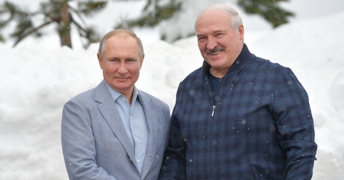 «Мы очень близкие люди»: Путин и Лукашенко провели переговоры
