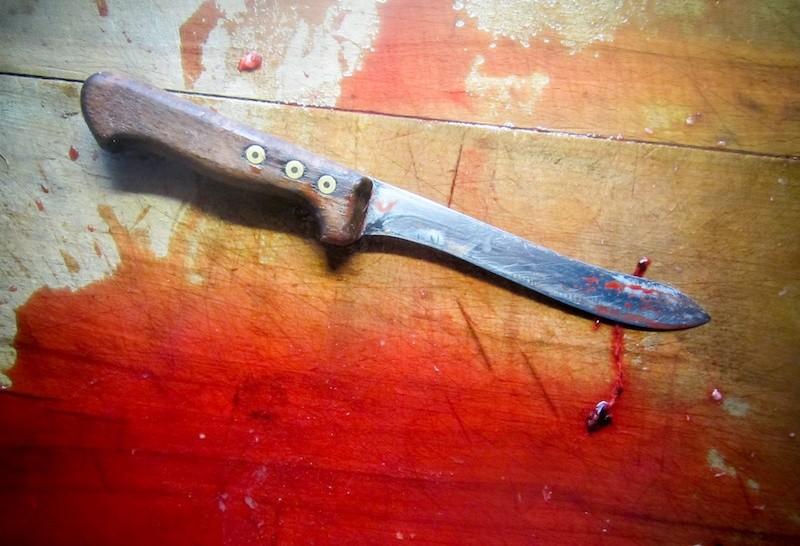 В Вильяндимаа женщина напала с ножом на двух детей