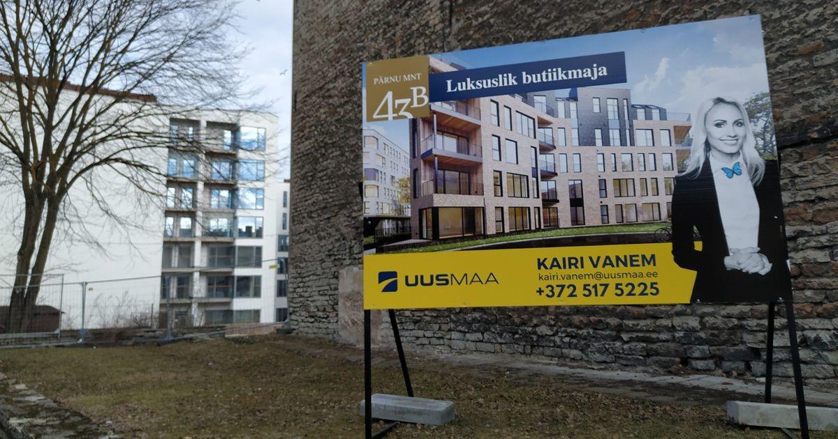 Таллинн строится: дом-бутик в тени «Космоса» и его веселые строители