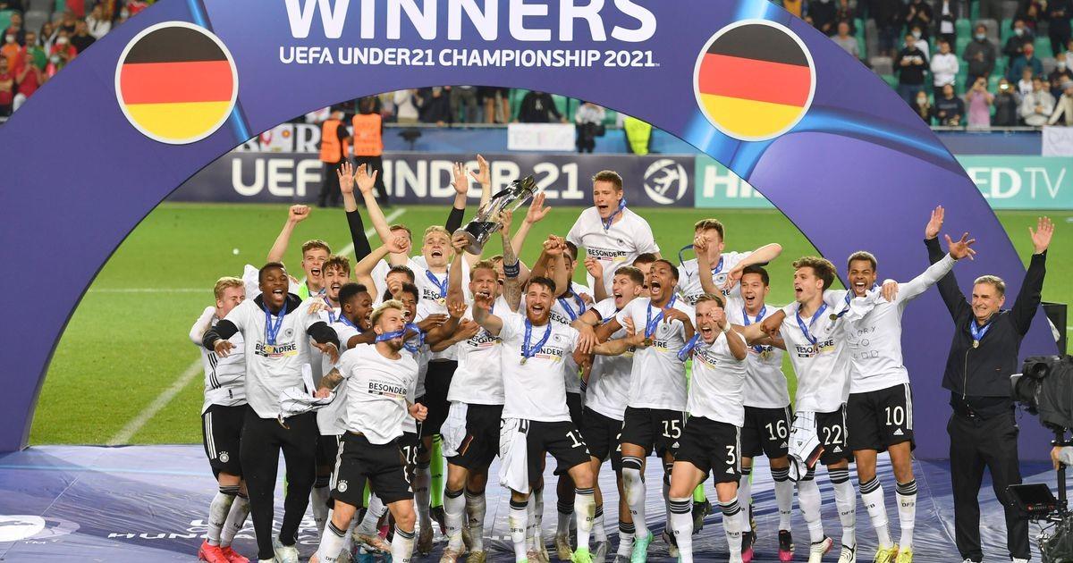 Молодежная сборная Германии стала победителем ЧЕ-2021 по футболу