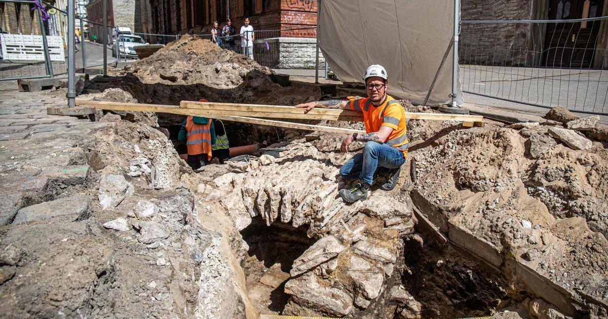 Находка при раскопках в Старом городе стала для археологов неожиданностью