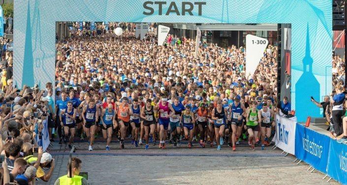 В реале и виртуале: Таллинский марафон впервые стартует на Певческом поле