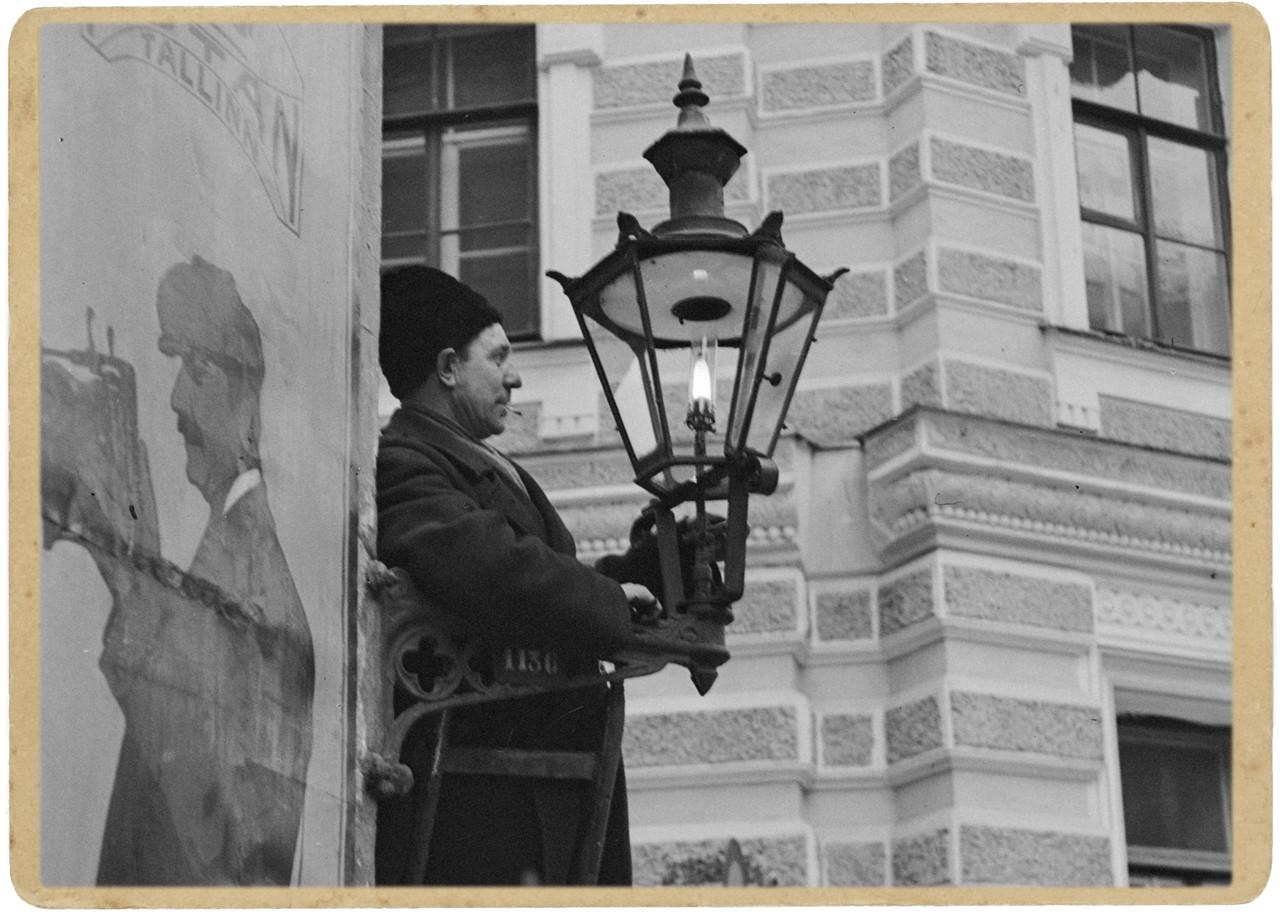 Архив | Как в Таллинне газовые фонари зажигали