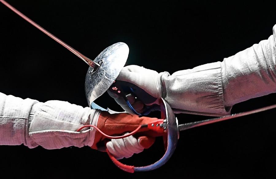 Женская сборная Эстонии по фехтованию на шпагах завоевала золото на Олимпийских играх в Токио