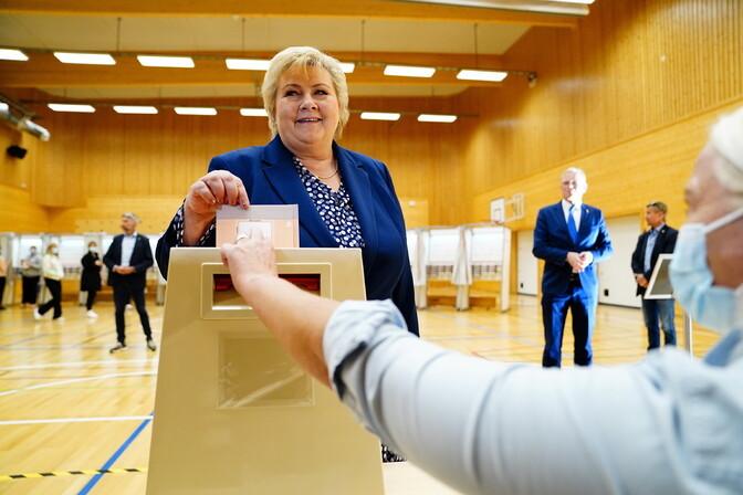 В Норвегии парламентские выборы могут привести к смене правительства