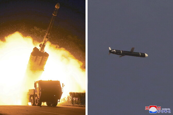 Северная Корея заявила об успешном испытании крылатой ракеты большой дальности