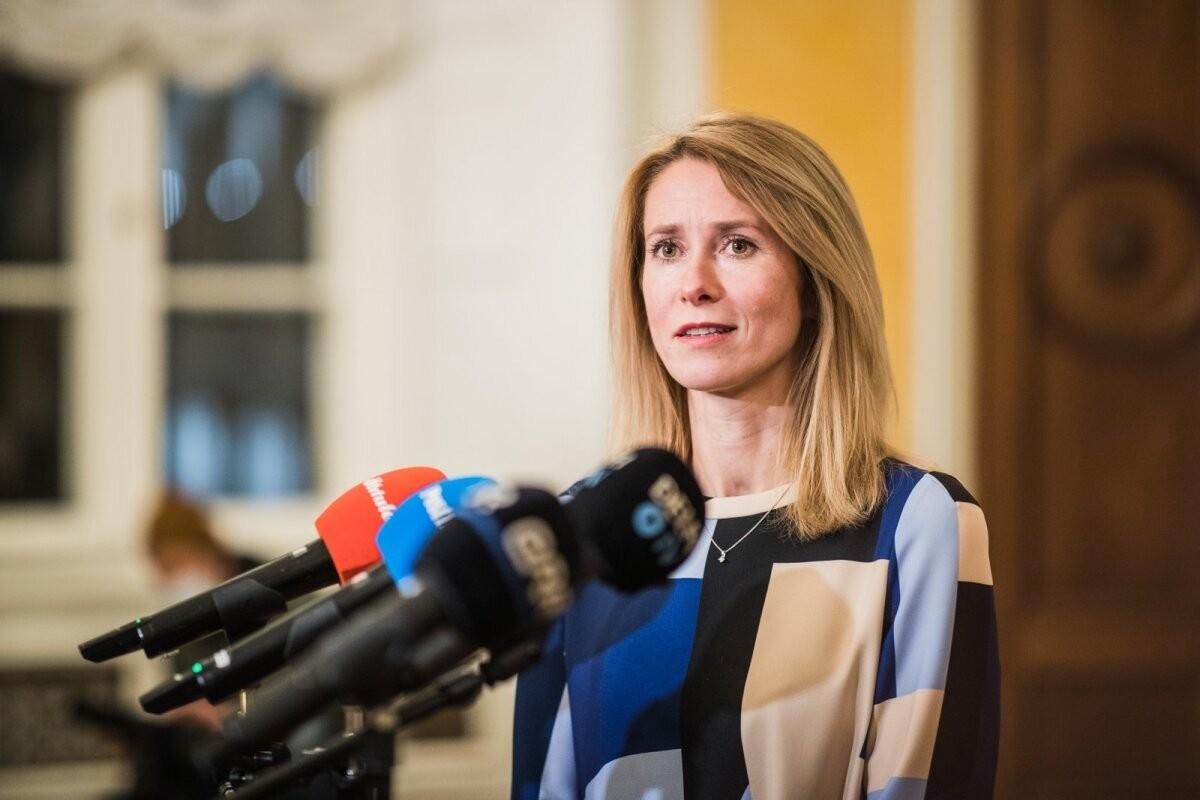 ВИДЕО | Кая Каллас обратилась к жителям Эстонии