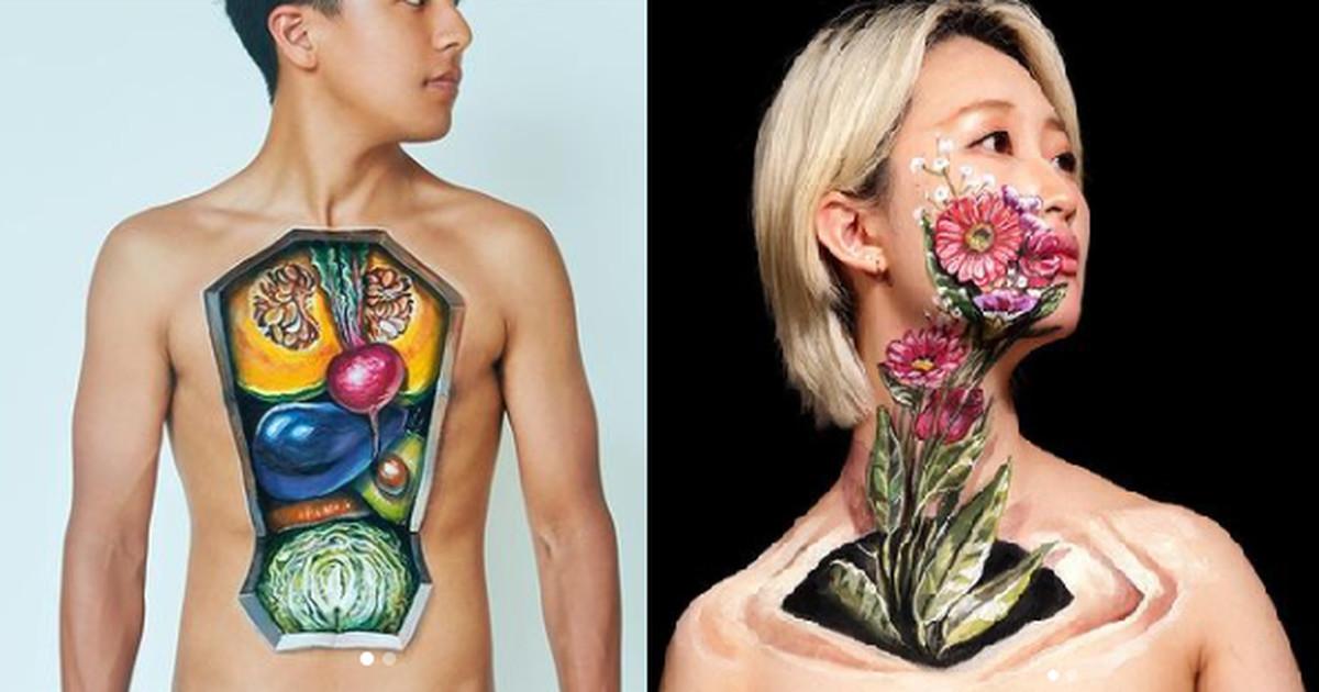 5 реалистичных иллюзий, нарисованных на моделях, после которых вы взглянете на своё тело по-другому