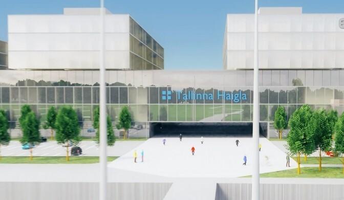 Застройщики о проекте Таллиннской больницы: работу придется разделить между несколькими фирмами
