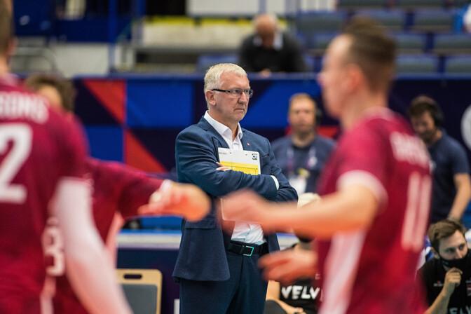 Эстонский специалист Аво Кеэль ушел с поста главного тренера сборной Латвии по волейболу