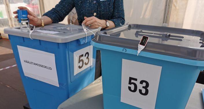 Сколько избирателей в Эстонии проголосовали на местных выборах за два дня