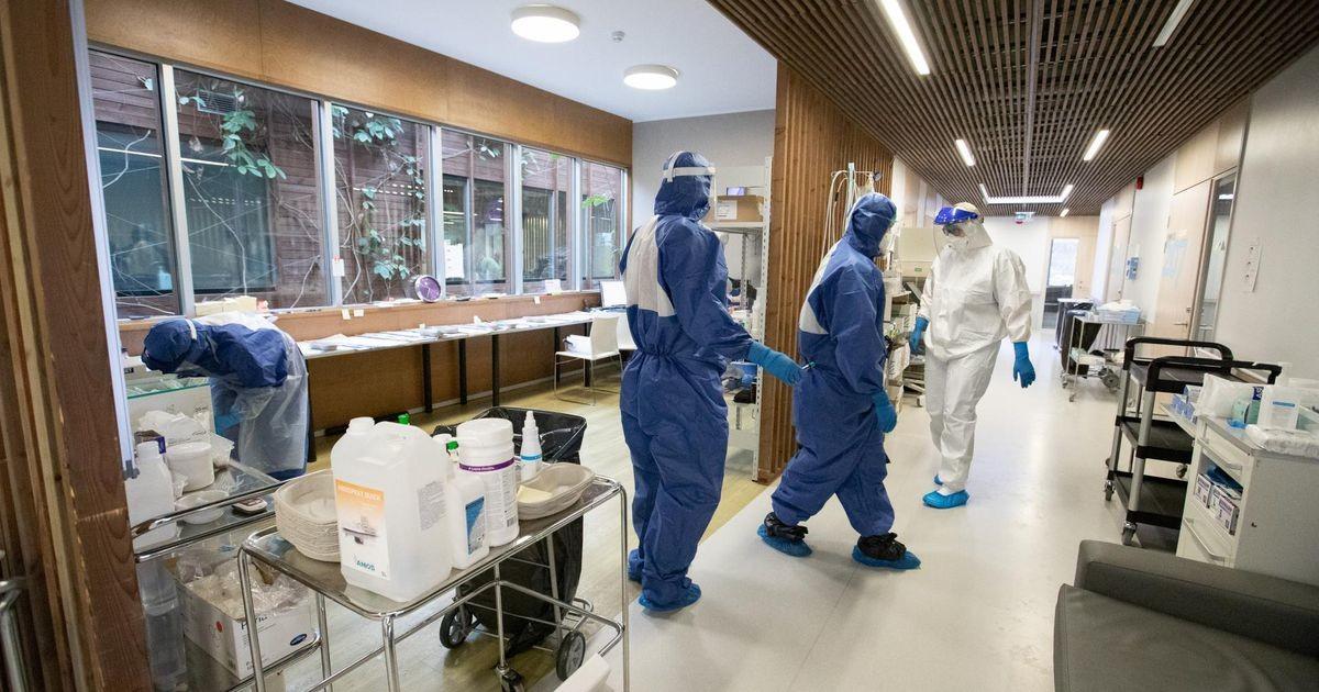 Ковид-отделение Раквереской больницы заполнено