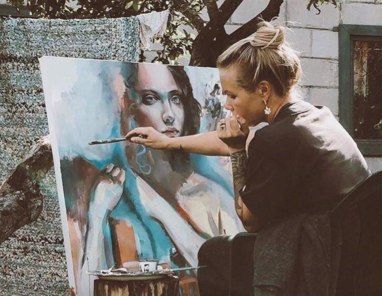 Мария Самбуренко: как оживают стены города