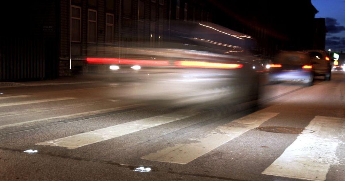 В Таллинне пьяный водитель на автомобиле Bolt сбил пешехода
