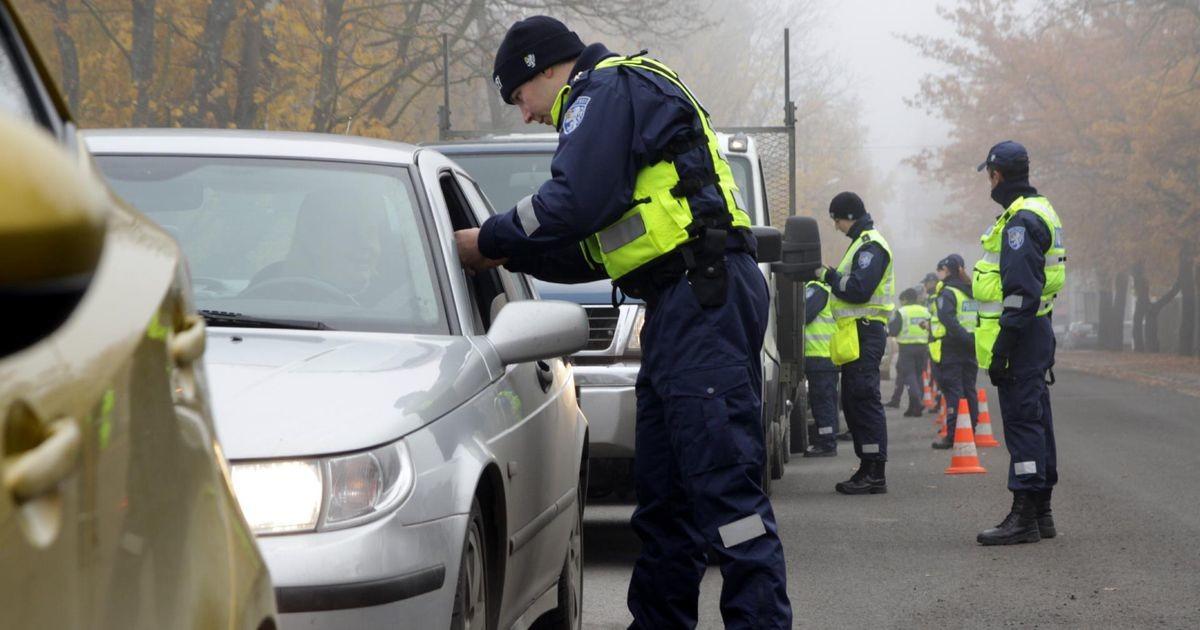За минувшие сутки на дорогах Эстонии задержали пятерых нетрезвых водителей