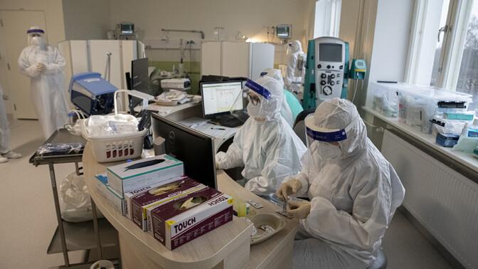 В Эстонии выявили 1542 новых случая заражения коронавирусом