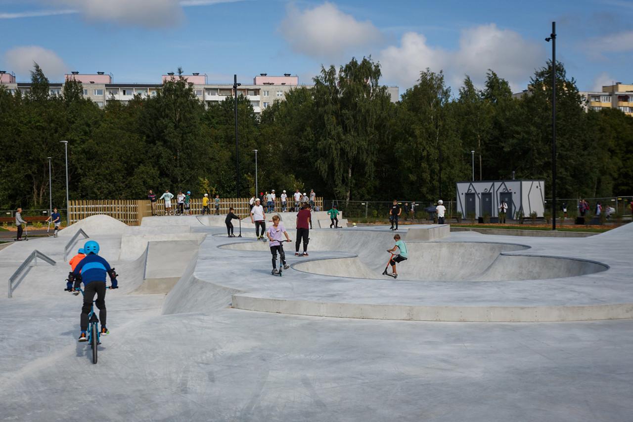 В таллинском парке Тондираба начинаются бесплатные тренировки и экскурсии (график)