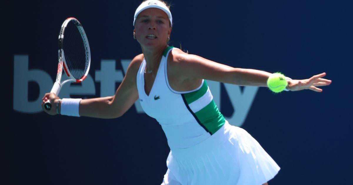 Анетт Контавейт не попала в 1/8 финала турнира в Майами