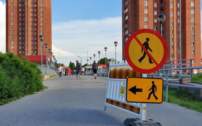 В Ласнамяэ начали реконструкцию бульвара Линдакиви