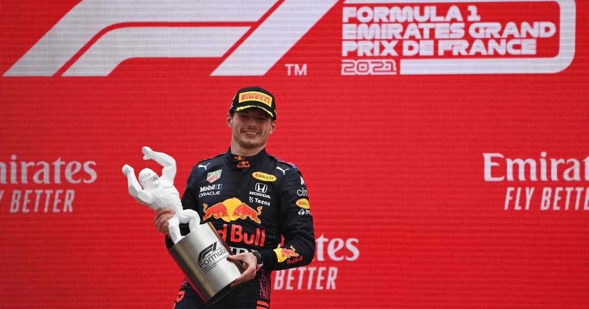 Нидерландец Ферстаппен выиграл Гран-при Франции