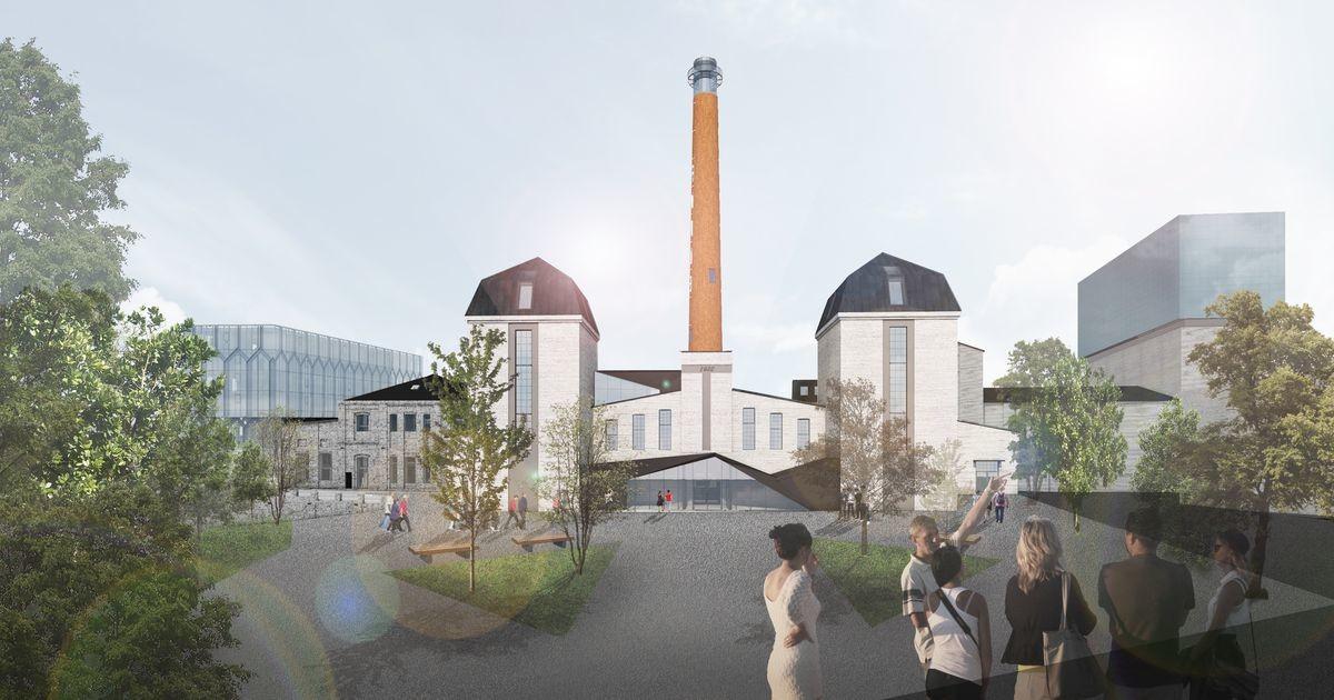 Труба котельной в центре Таллинна превратится в смотровую башню с лифтом