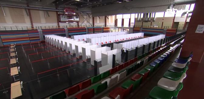 В Тарту в городском спортхолле откроется центр вакцинации