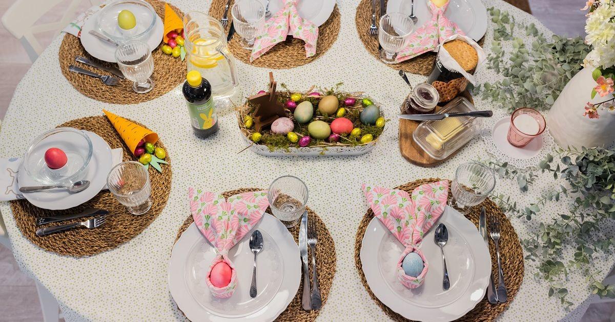 Пасхальный стол: советы дизайнера по праздничной сервировке