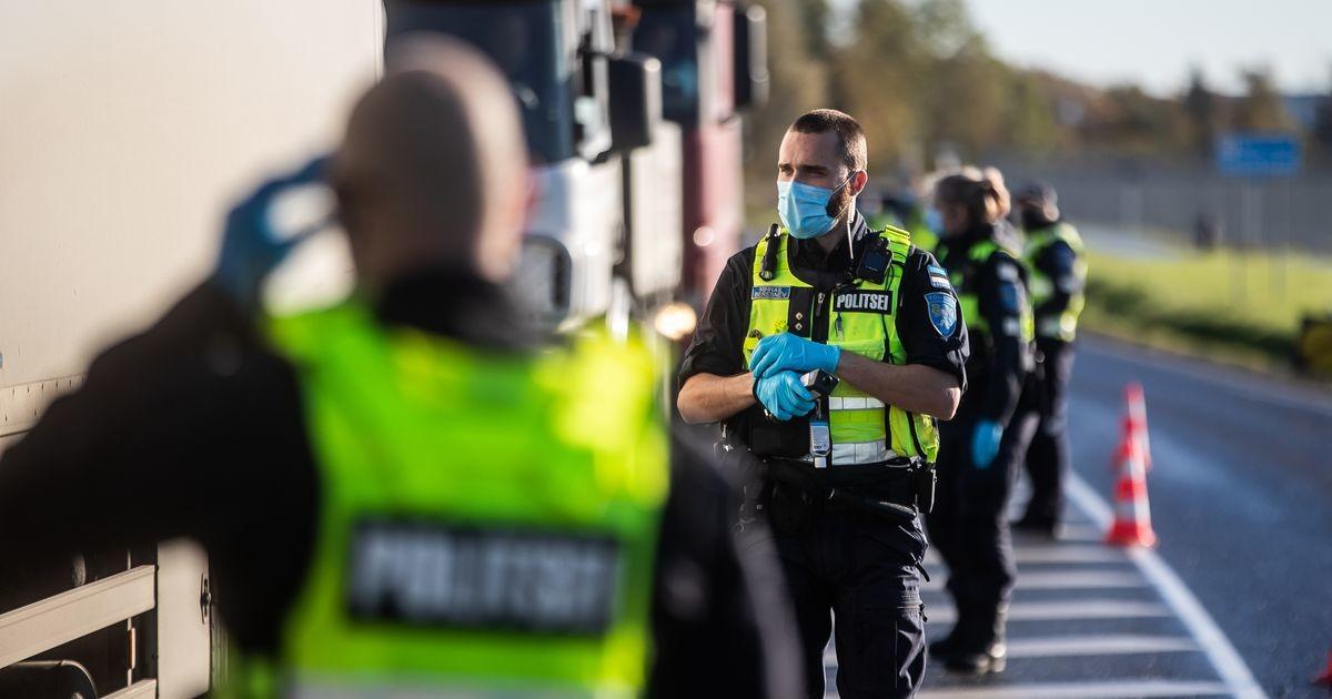 За минувшие сутки на дорогах Эстонии задержали десять нетрезвых водителей