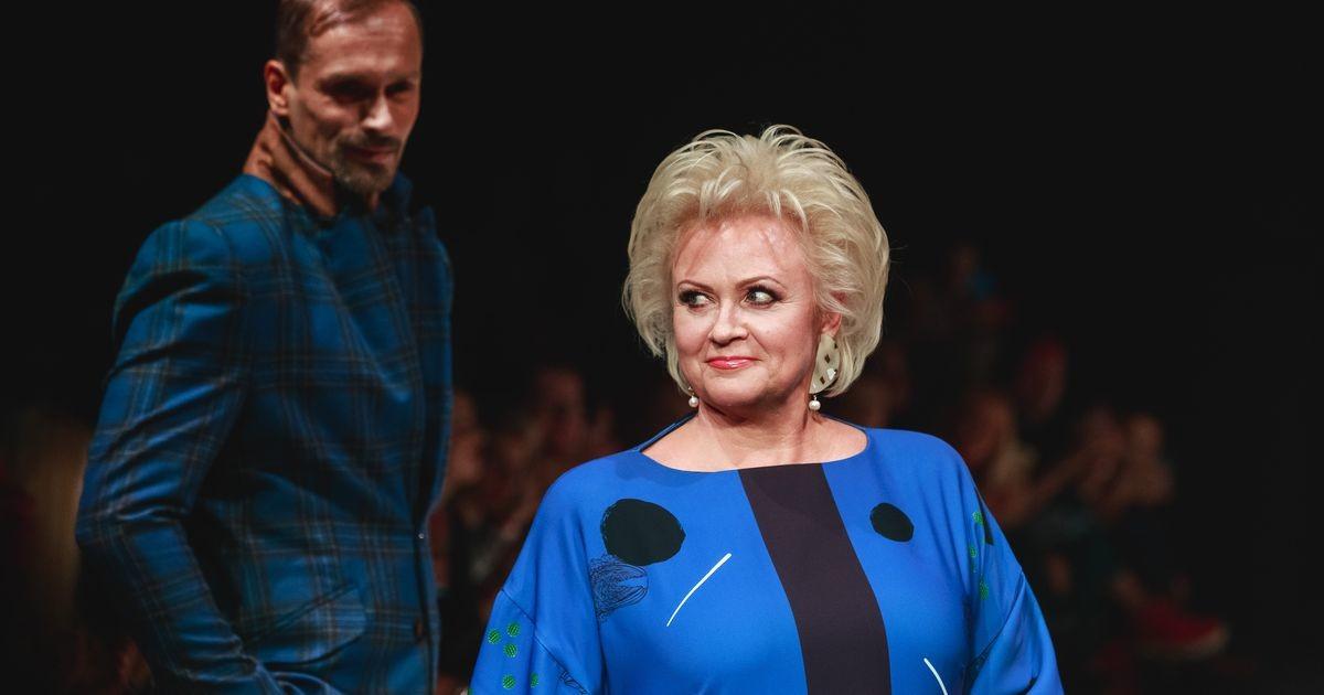 Анне Вески показала самый большой комбайн Эстонии