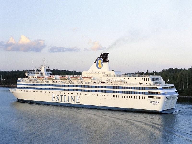 Затонувший паром «Эстония» тщательно исследуют в сентябре