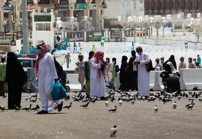 В Саудовской Аравии началось ежегодное паломничество в Мекку
