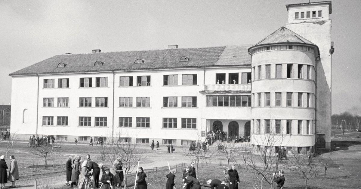 История о квартале Шелковых носков и заброшенной эстонской школе на улице Спорди в Кохтла-Ярве