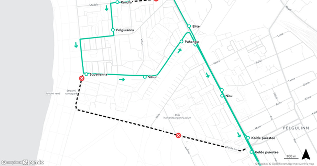 Движение на бульваре Кольде будет перекрыто из-за ремонтных работ