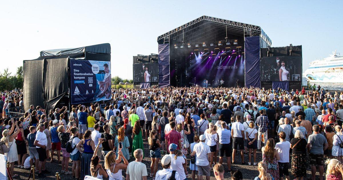 Не знаете, куда пойти? Смотрите, как проходит самый крупный морской фестиваль в Таллинне!