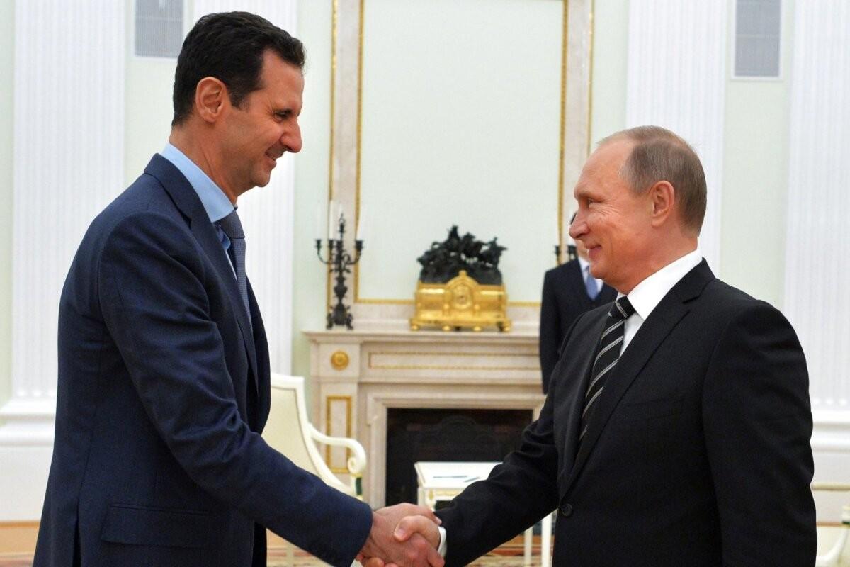 Путин принял Асада в Кремле. Визит не афишировался