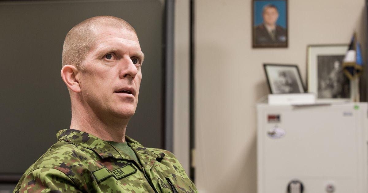 Командующий Силами обороны Эстонии заверил украинского коллегу в поддержке