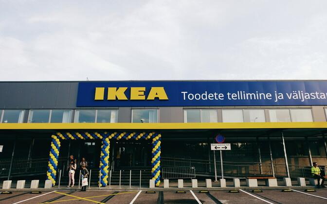Первый магазин IKEA в Эстонии откроется по плану осенью 2022 года