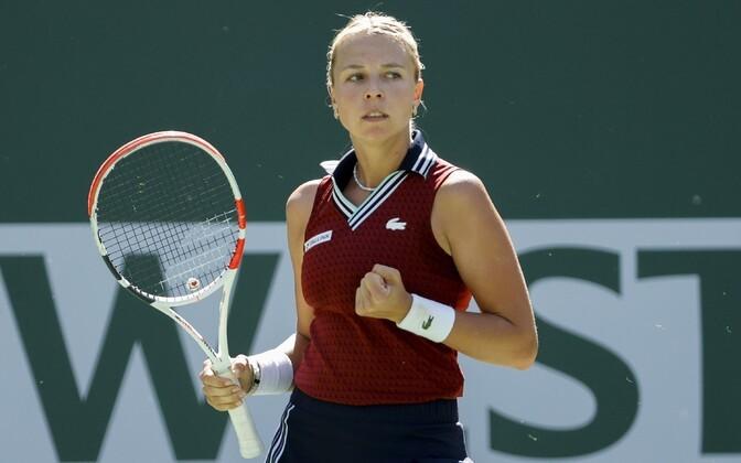 Контавейт вышла в четвертьфинал на турнире в Индиан-Уэллсе: соперница выиграла лишь два гейма