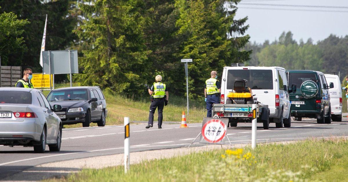За минувшие сутки на дорогах Эстонии задержали шестерых нетрезвых водителей
