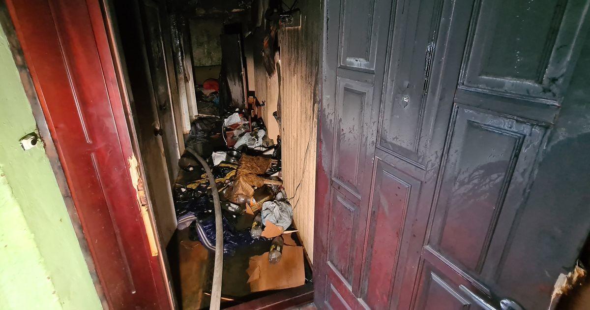 В Тарту пожар унес жизни двух человек, третий получил серьезные ожоги