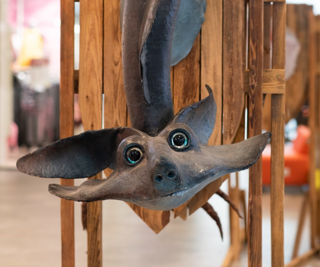 В торговом центре Nautica можно увидеть драконов в их натуральную величину
