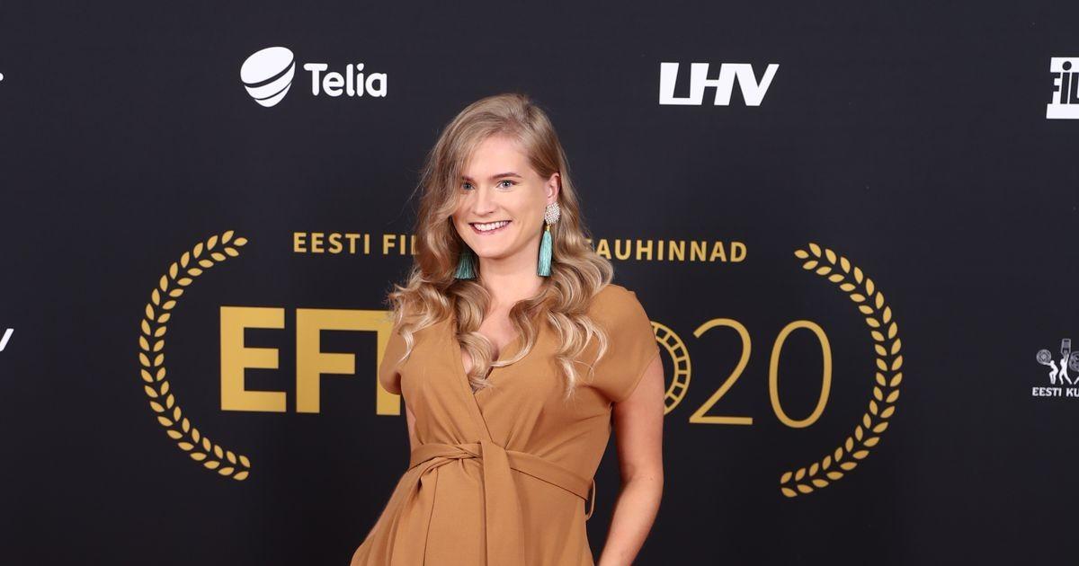 Телеведущая из Эстонии показала округлившийся живот