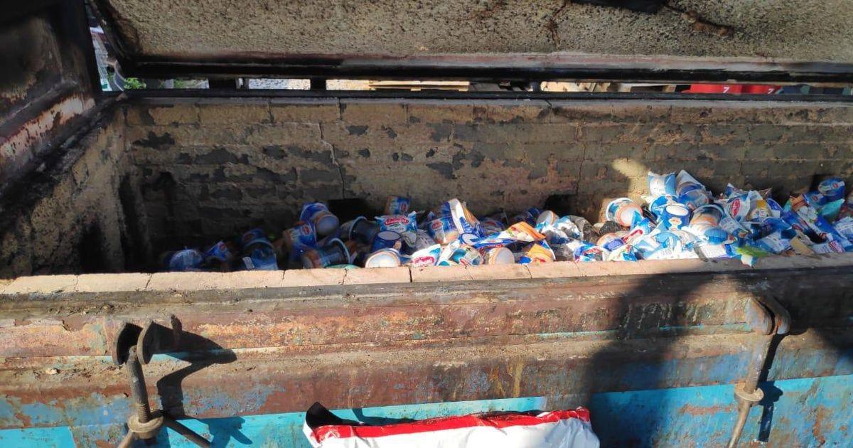 В России сожгли килограммы эстонского сыра, масла и мяса