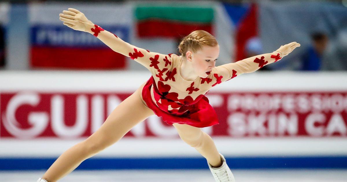 Эстонская фигуристка выиграла соревнования в Германии