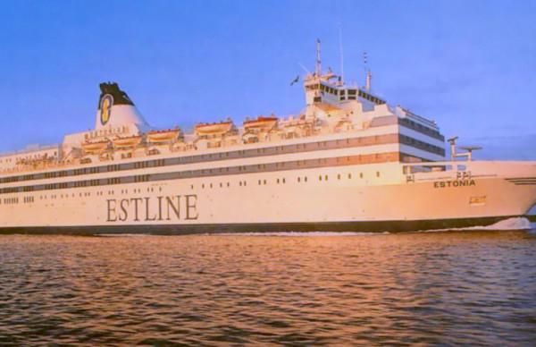 В корпусе парома «Эстония» обнаружена огромная дыра