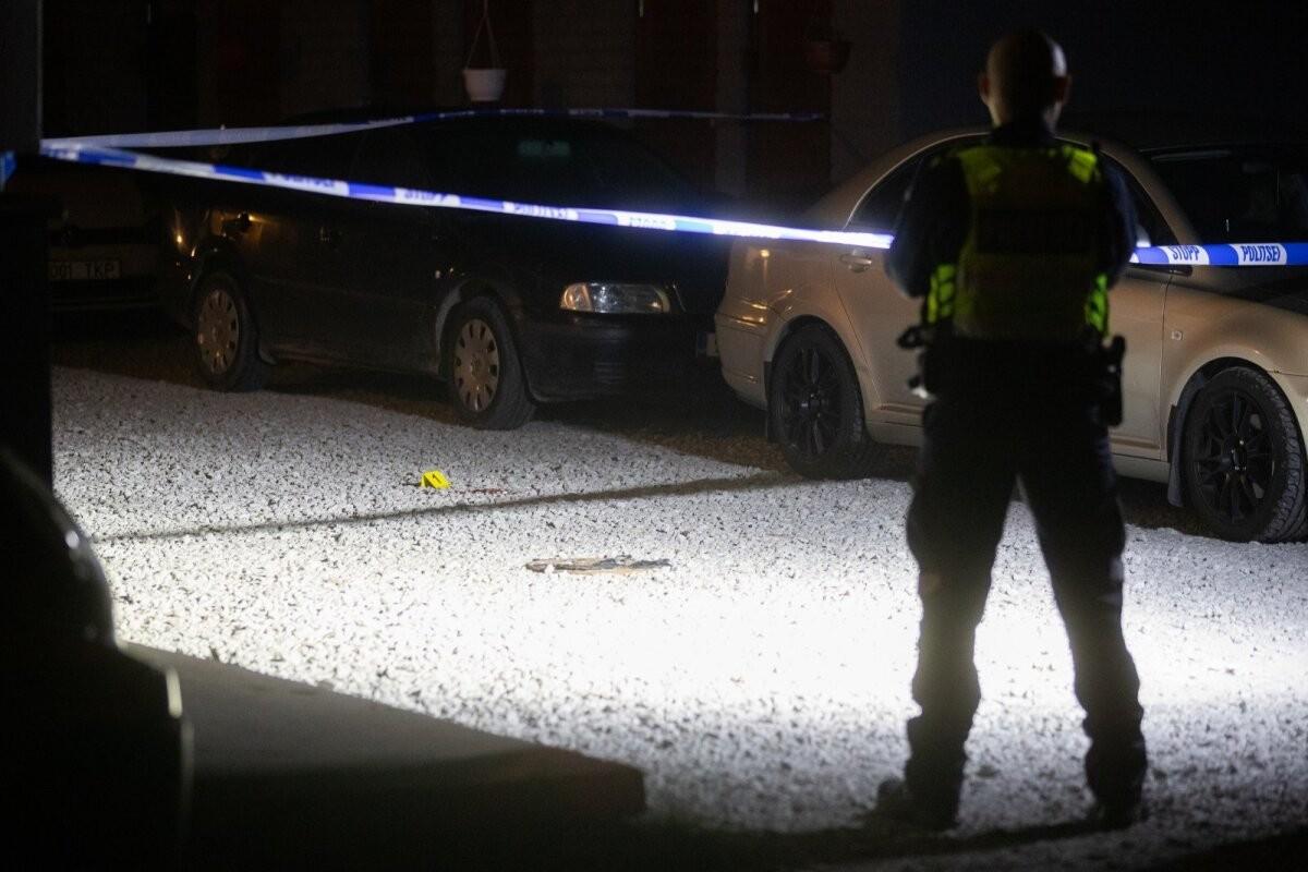 ФОТО | В Пыхья-Таллинне мужчина пытался напасть с ножом на людей, но получил лопатой по голове