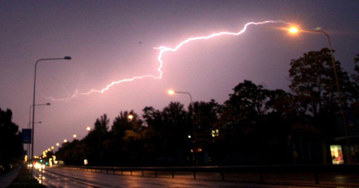 На Финляндию обрушится шторм «Рийкка»: в Эстонии выпустили срочное грозовое предупреждение