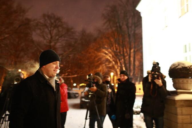 ФОТО: Юри Ратас отправился к президенту с заявлением об отставке