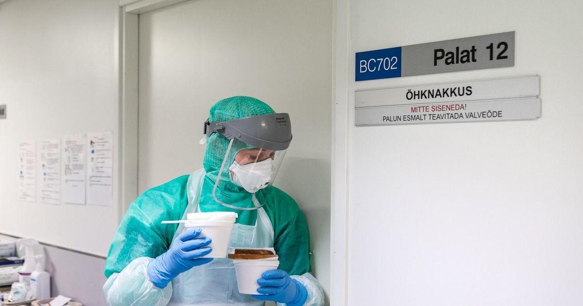 За сутки в Эстонии прибавилось 1154 зараженных