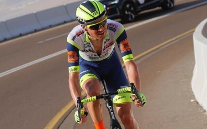 Велогонщик Рейн Таарамяэ стал чемпионом Эстонии в гонке с раздельным стартом